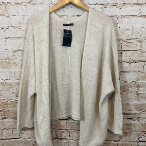 Brandy Melville open front cardigan new one size